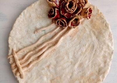 Patera ceramiczna dekoracyjna